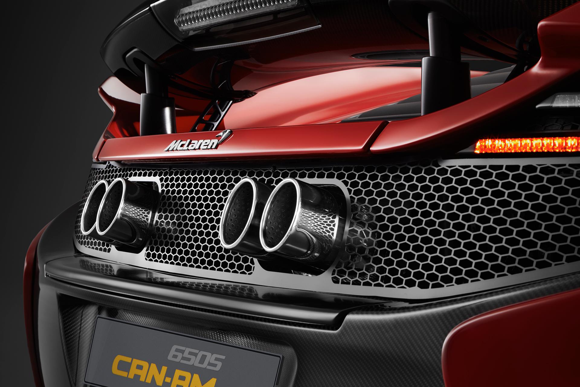 McLaren 650S MSO 50 years Can-Am - rear / arrière