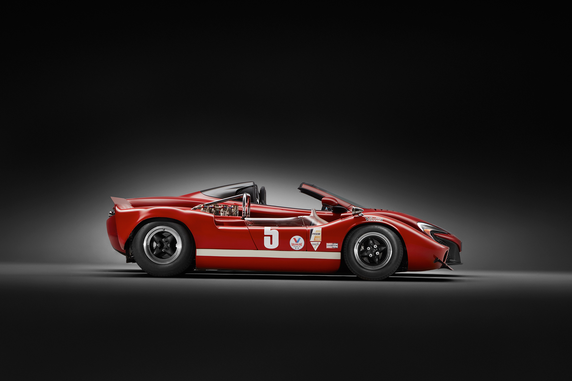 McLaren 650S MSO 50 years Can-Am- M1B - side-face / profil