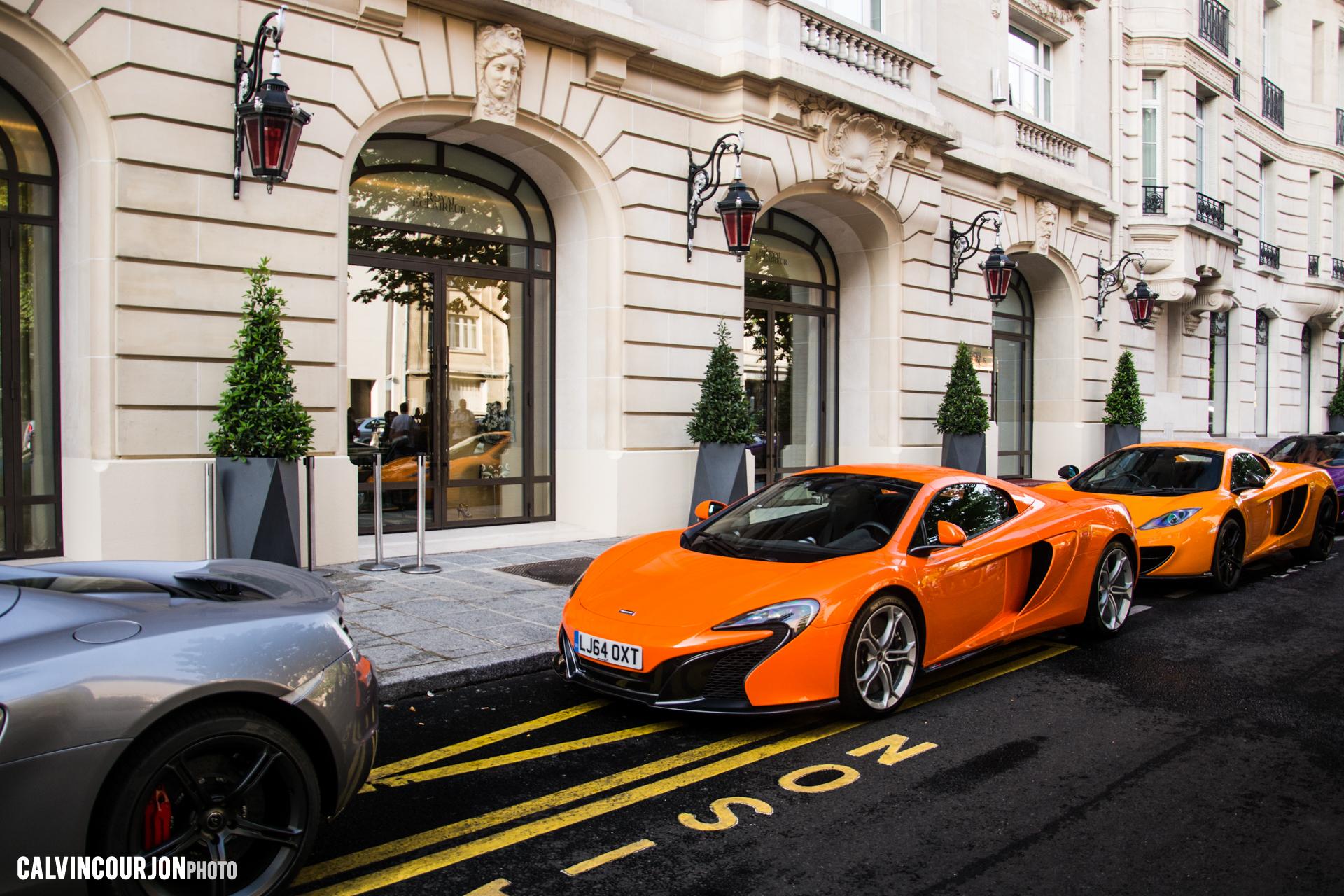 McLaren 650S (Orange) - 2015 - photo Calvin Courjon