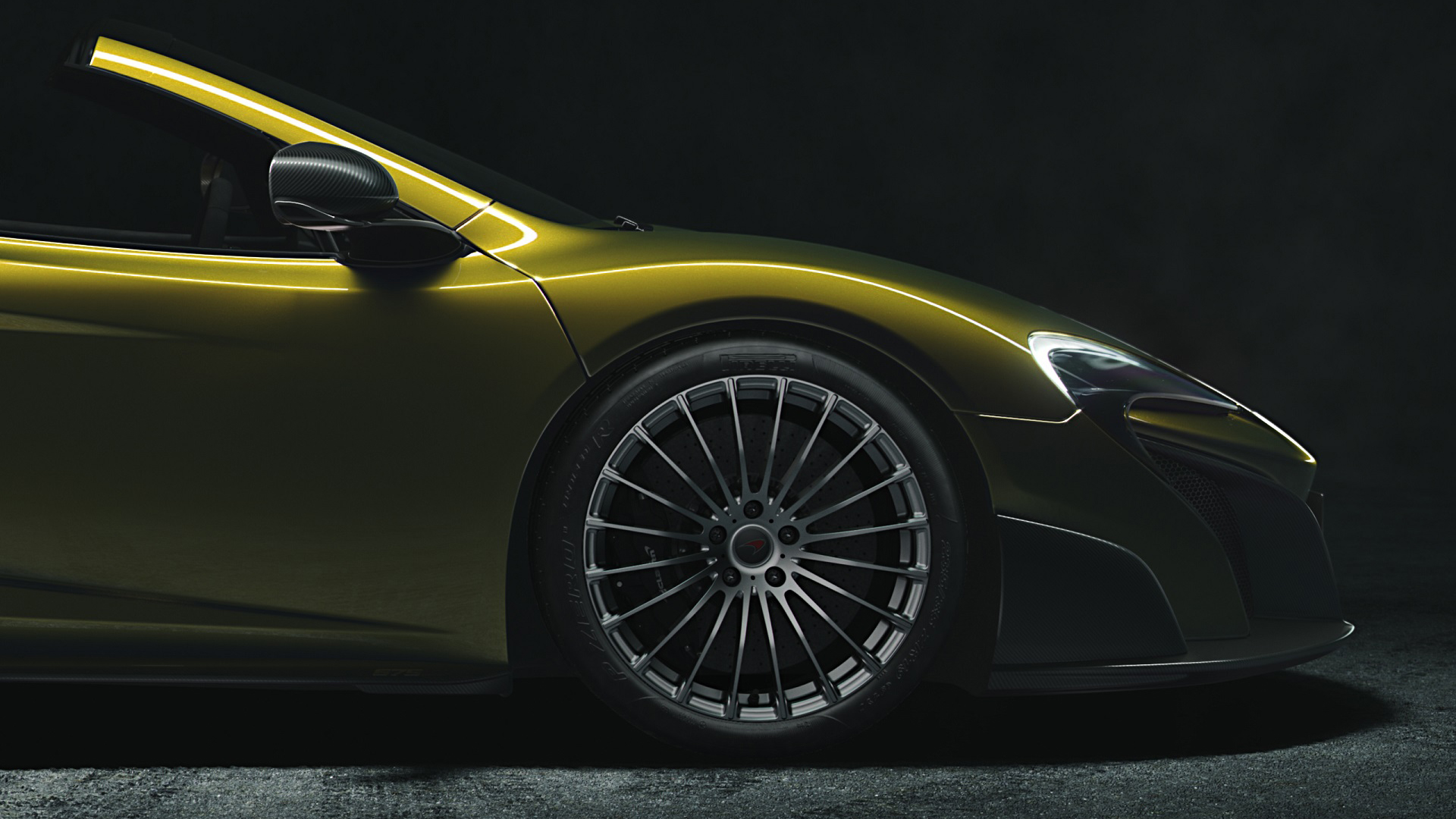 McLaren 675LT Spider - 2016 - wheel / jante