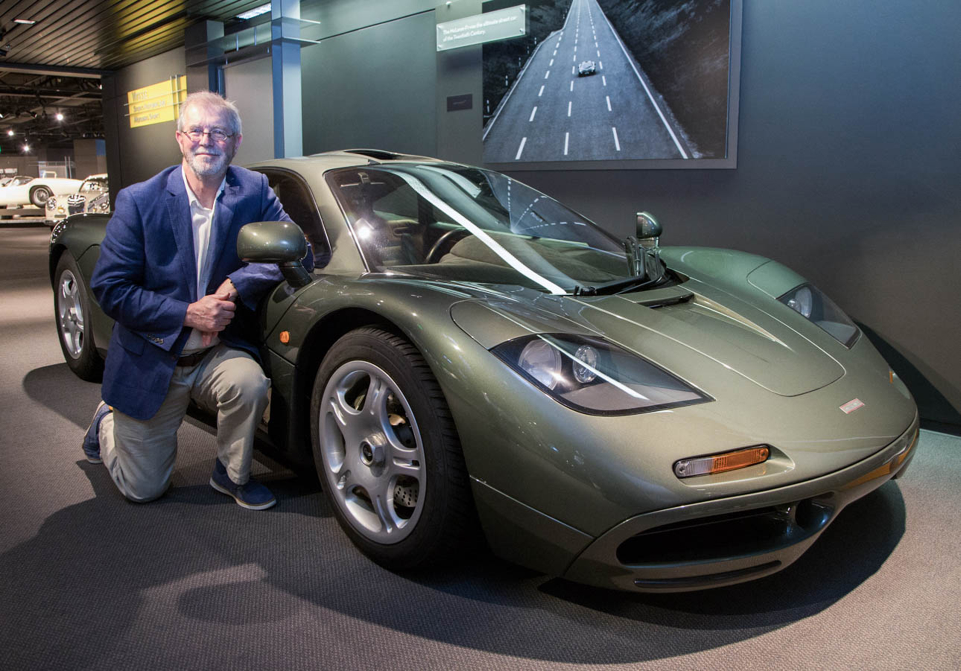 McLaren F1 - designer Peter Stevens