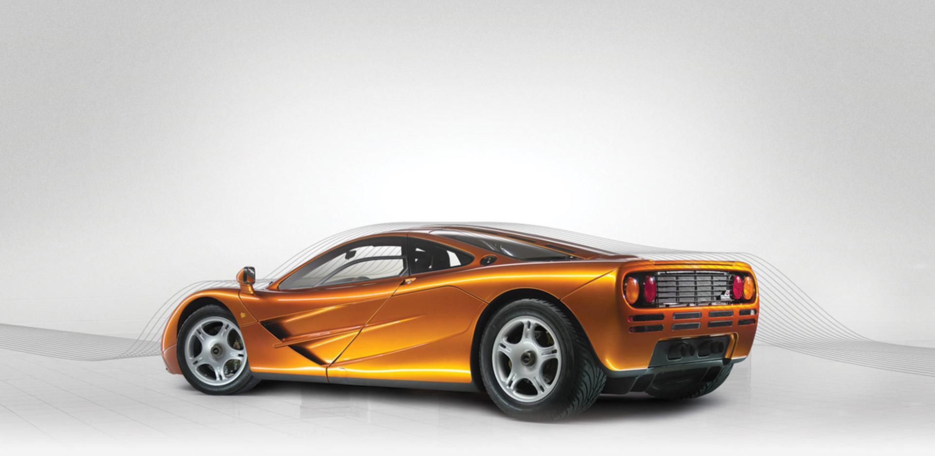McLaren F1 - aerodynamic