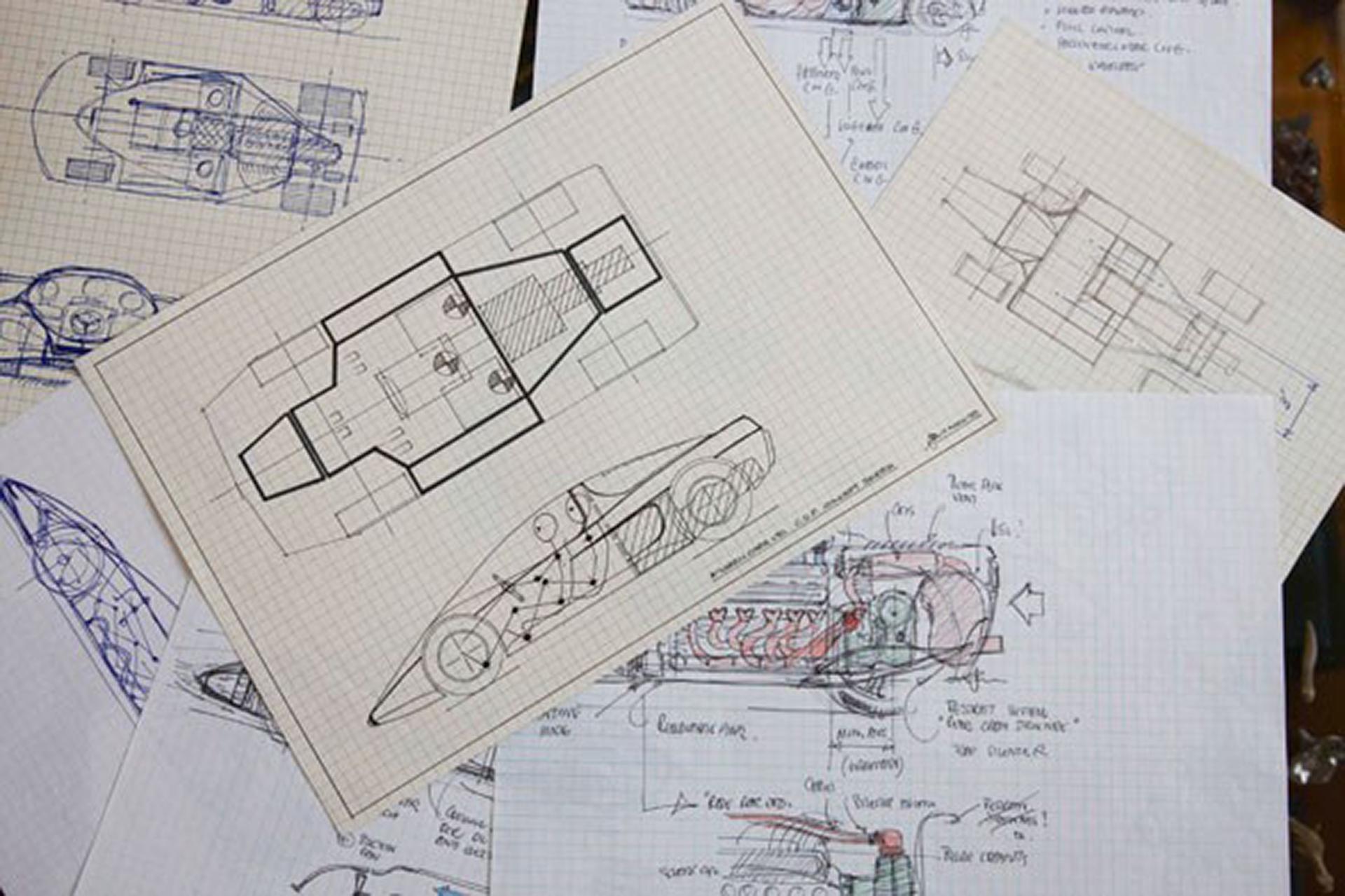 McLaren F1 - blueprint