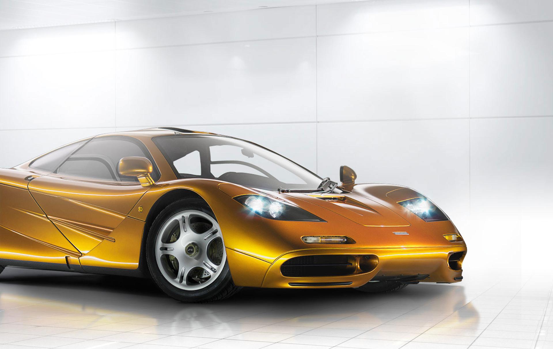 McLaren F1 - front light