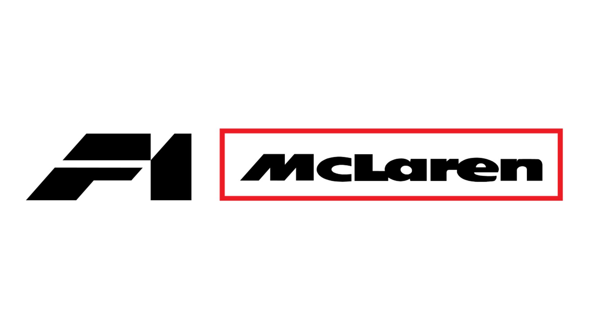 McLaren F1 - logotype