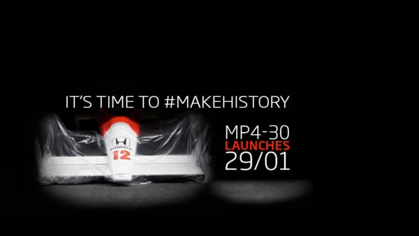 McLaren Honda - teaser 2015
