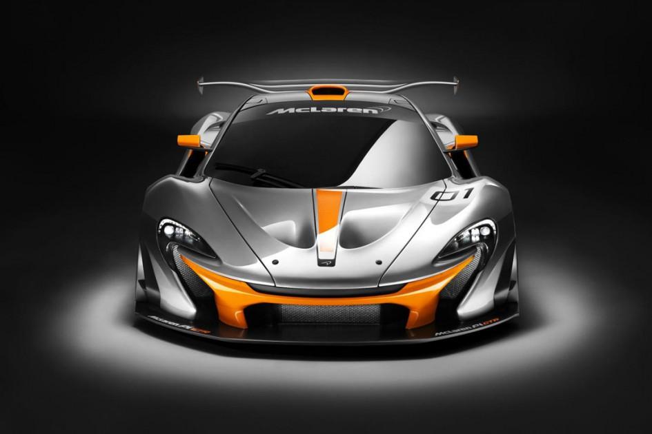 Mclaren P1 GTR - Avant