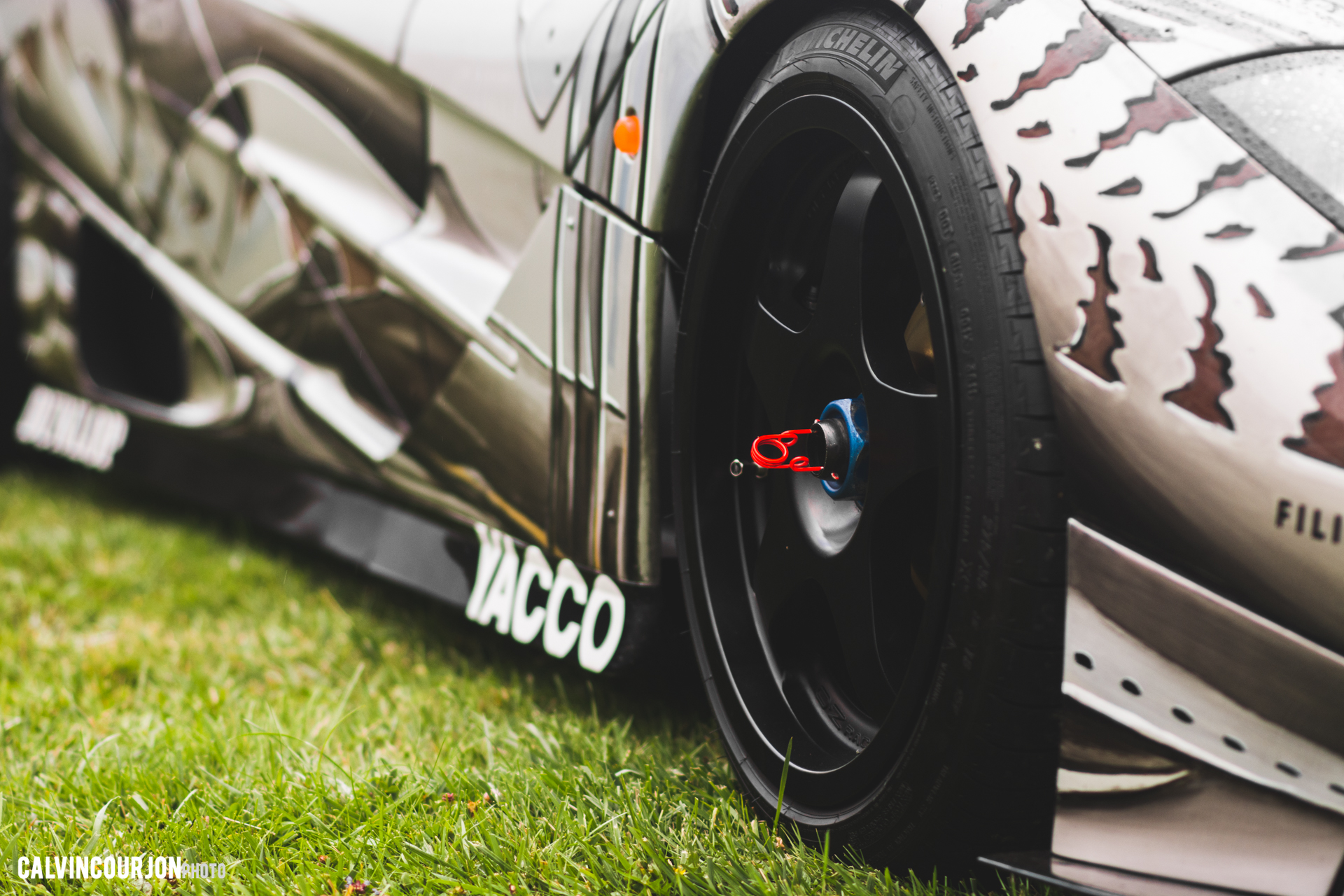 McLaren F1 (1995) – Cesar - side view wheel / jante, vue de côté - Chantilly 2015 – photo Calvin Courjon