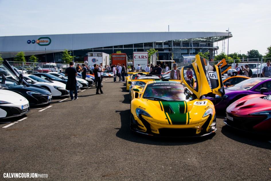 McLaren95 parade at Le Mans - 2015 - photo Calvin Courjon
