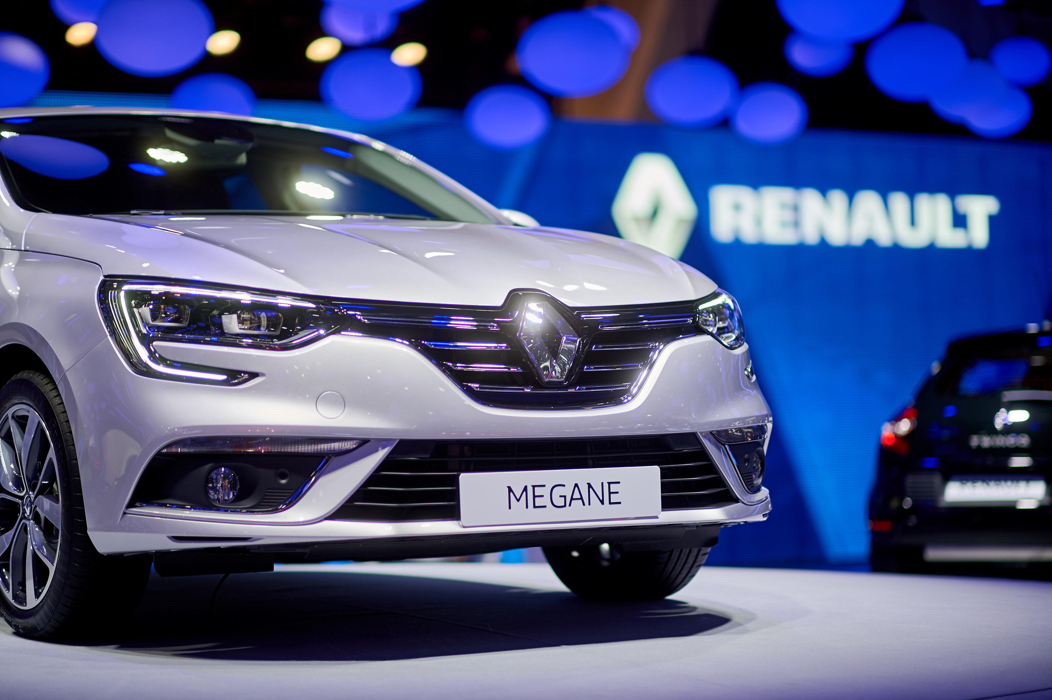Megane - European Motorshow Brussels 2016
