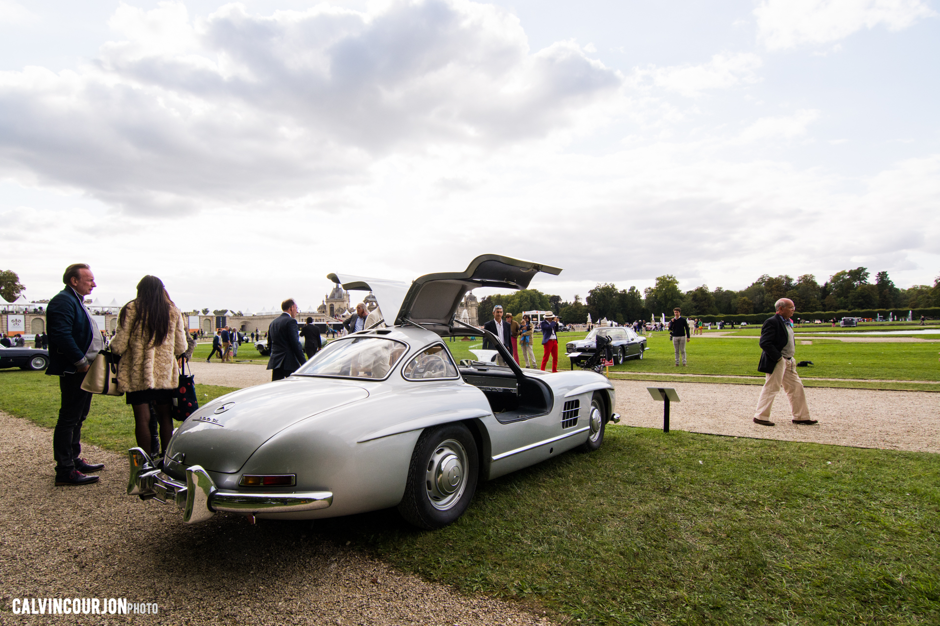 Mercedes 300 SL - Chantilly 2015 – photo Calvin Courjon