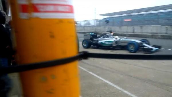 Mercedes AMG F1 W06 Hybrid - Silverstone