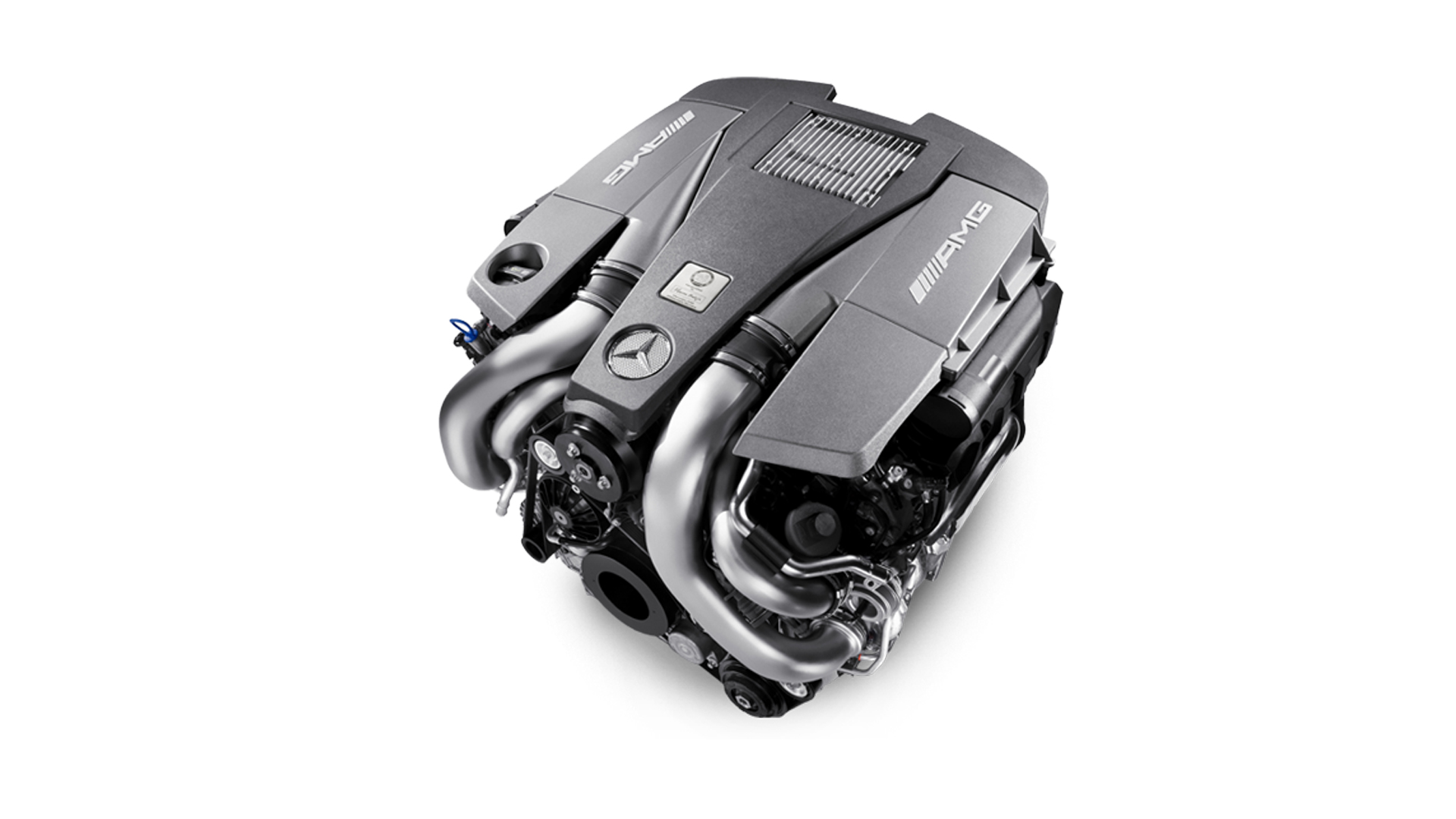 Mercedes-AMG 5.5-litre V8 biturbo engine