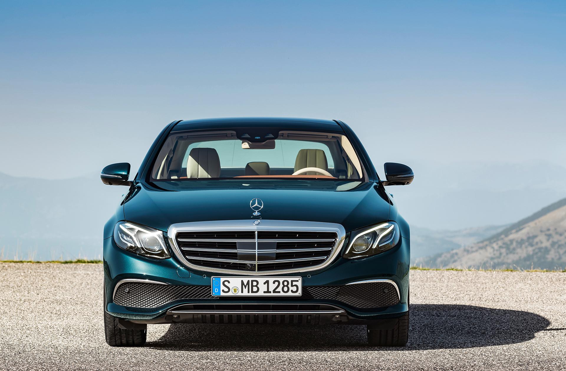 Mercedes-Benz E Class - 2016 - E350e - front / avant