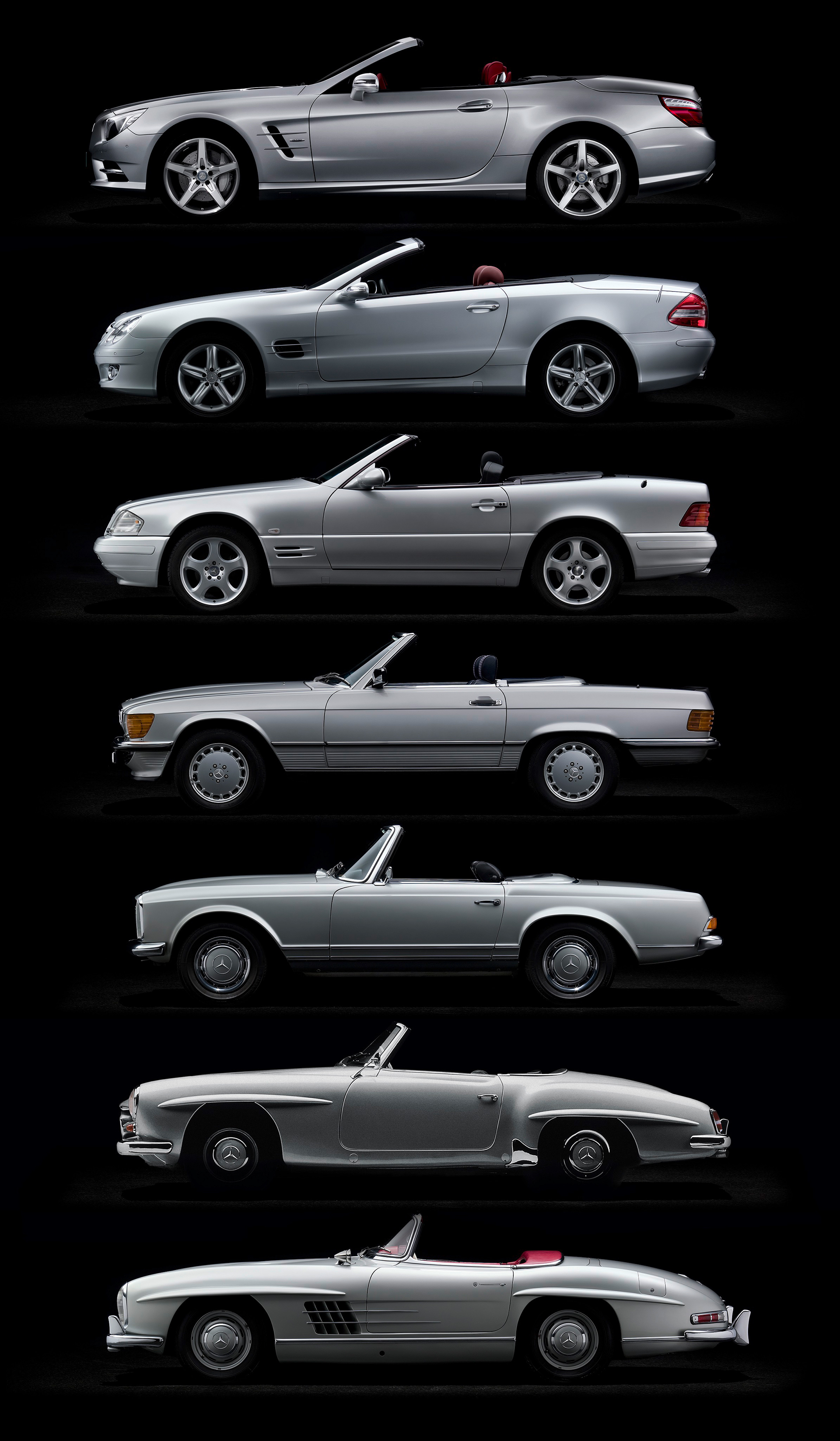Mercedes-Benz SL - 1950 - 2015