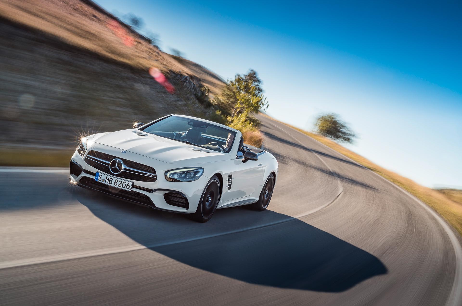 Mercedes-Benz SL AMG - 2016 - avant / front