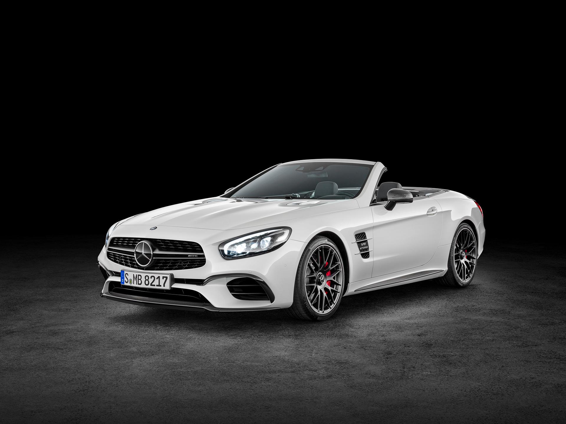 Mercedes-Benz SL AMG - 2016 - profil avant / front side-face