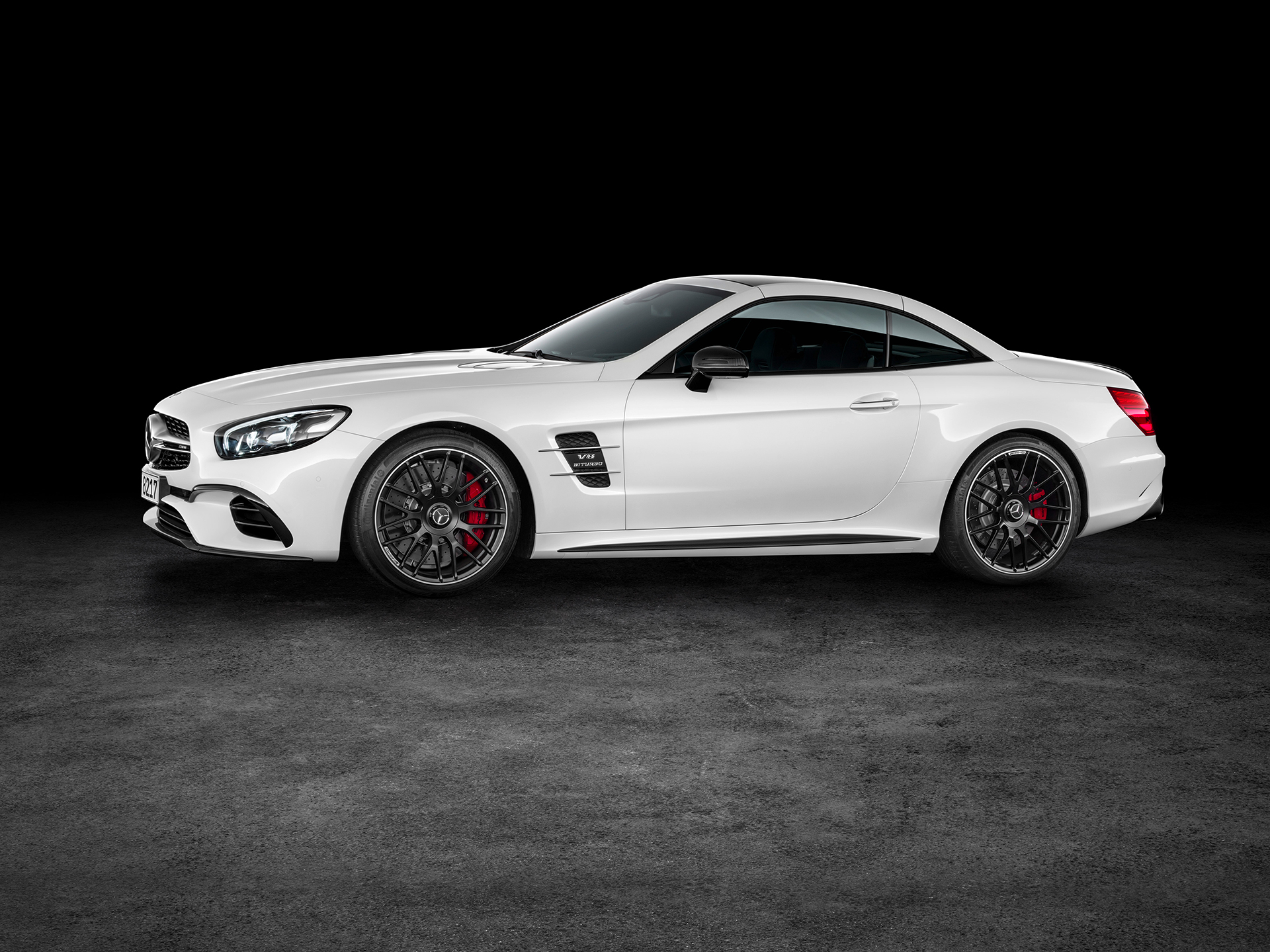 Mercedes-Benz SL AMG - 2016 - profil / side-face