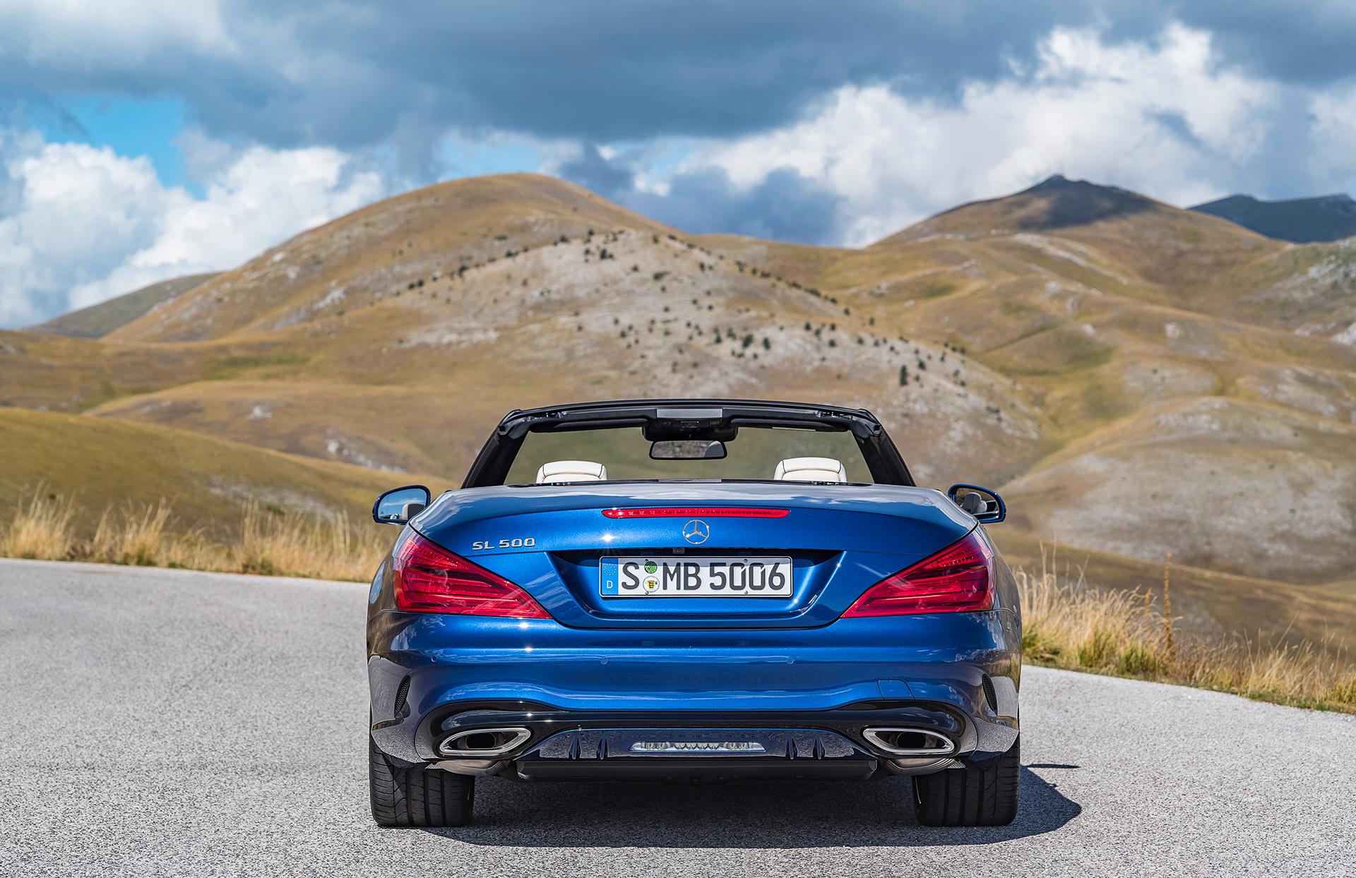 Mercedes-Benz SL - 2016 - arrière / rear