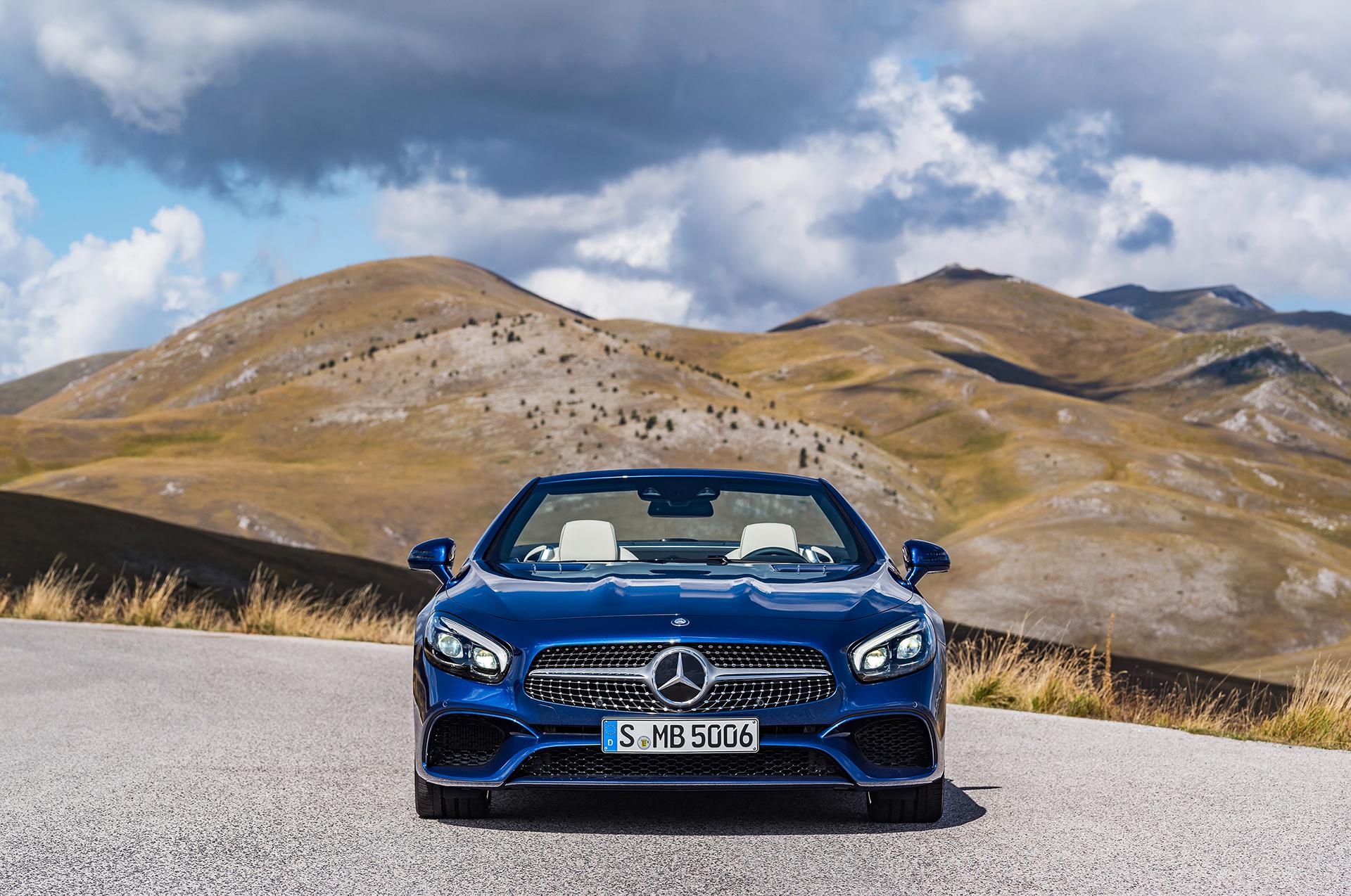 Mercedes-Benz SL - 2016 - avant / front