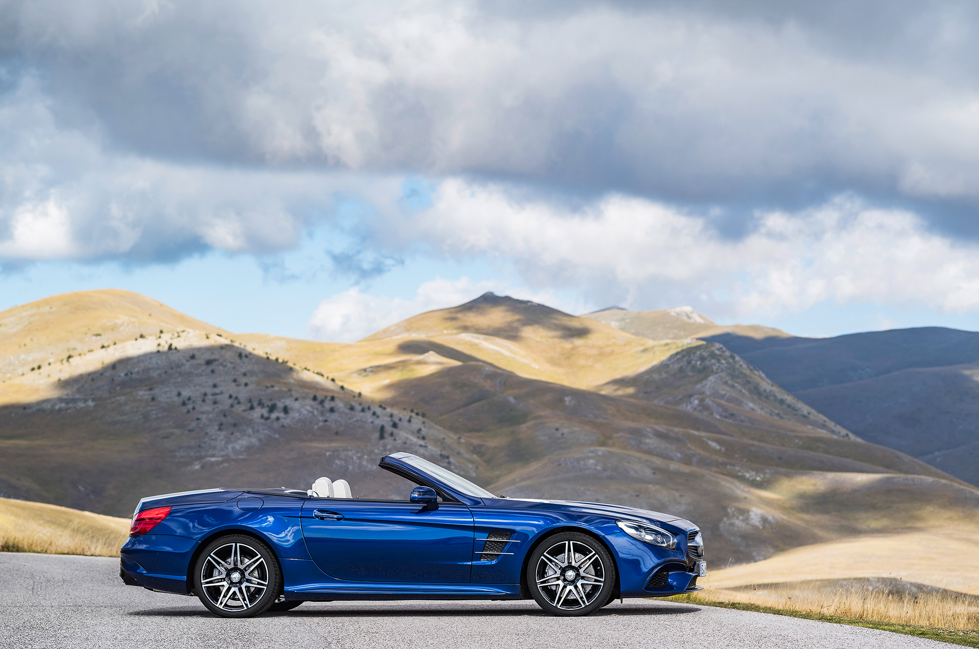 Mercedes-Benz SL - 2016 - profil / side-face