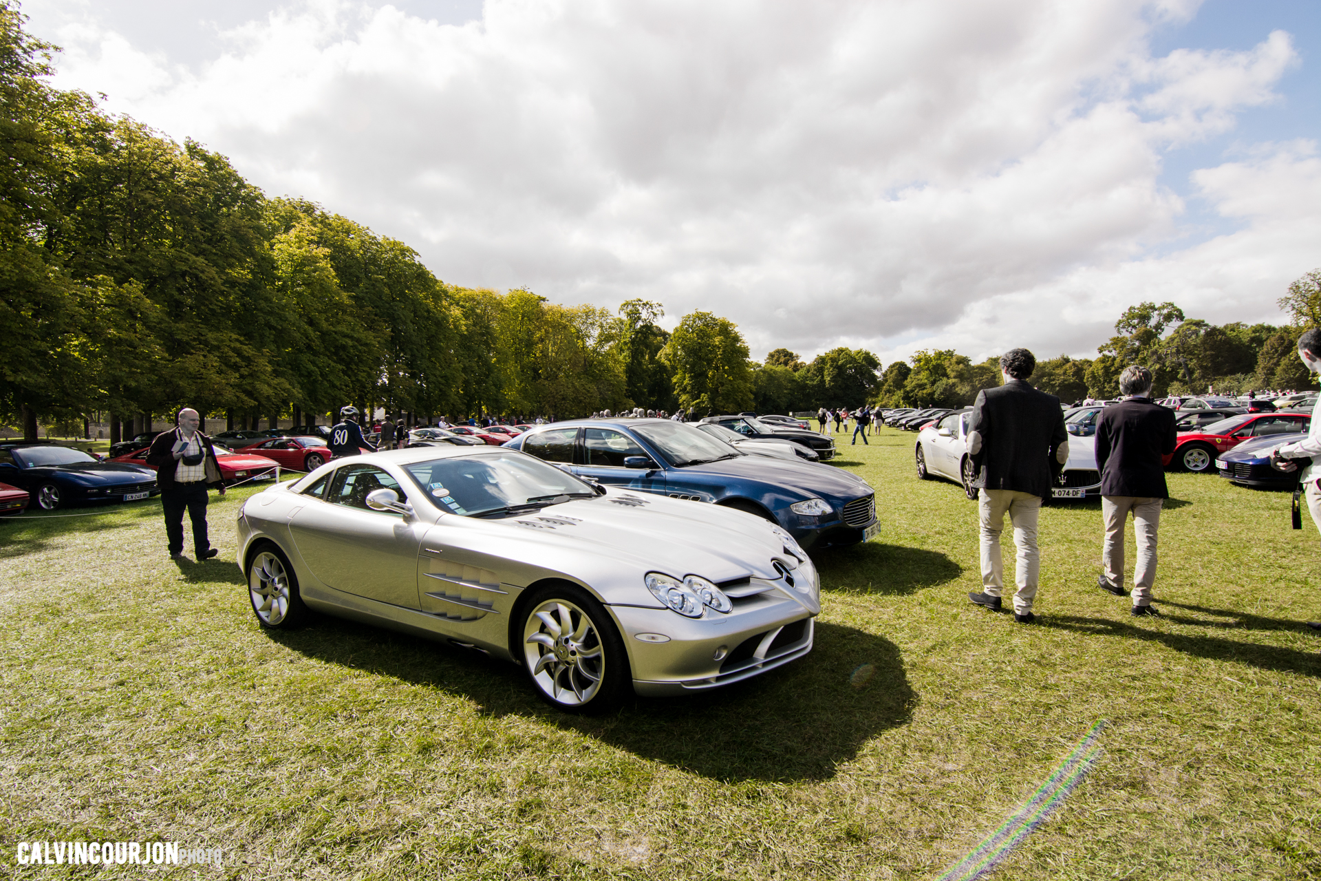 Mercedes SLR McLaren - Chantilly 2015 – photo Calvin Courjon