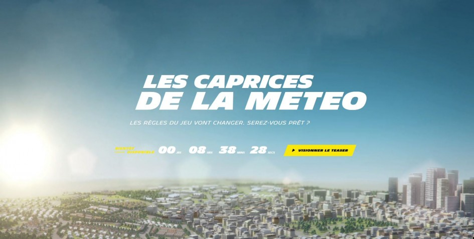 Michelin teasing 2015