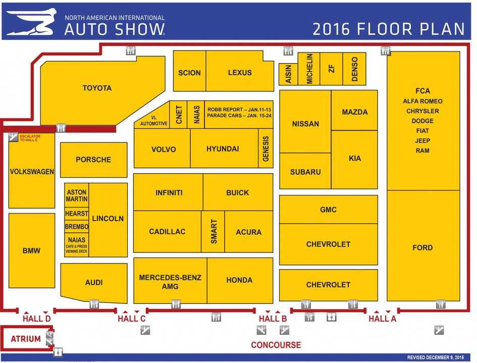 NAIAS 2016 - Plan