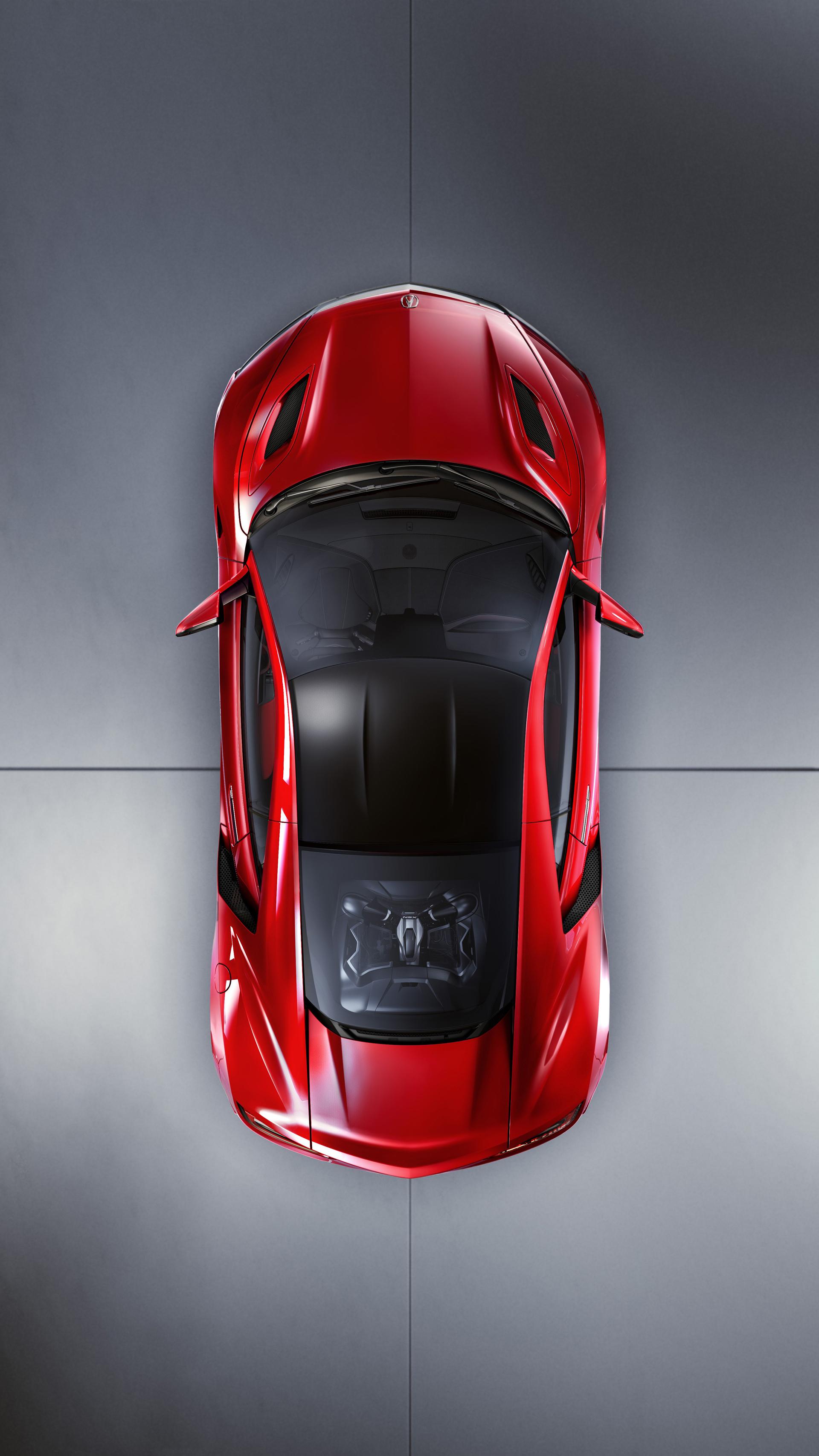 NSX - design moteur - Acura Honda