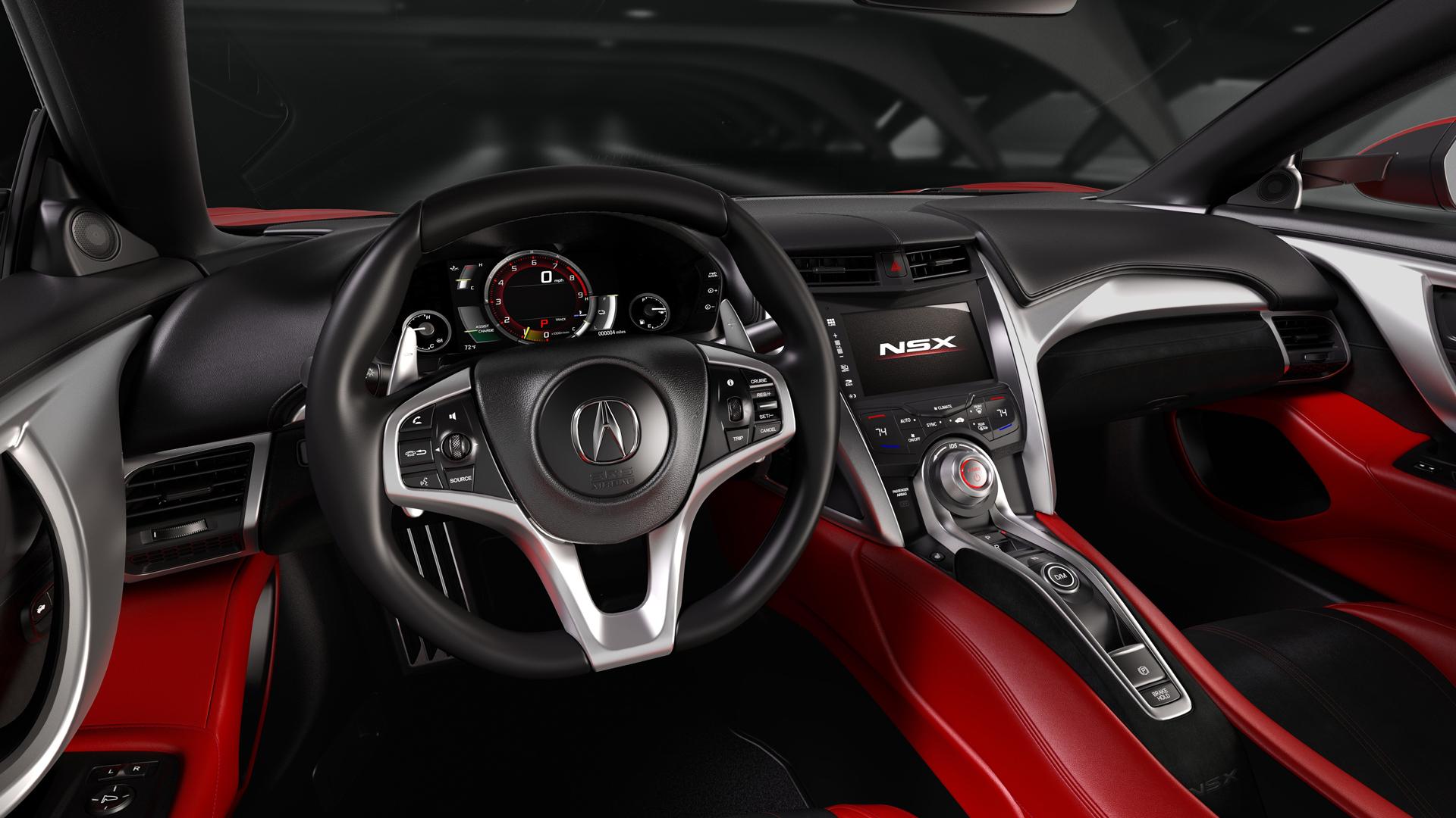 NSX - intérieur - Acura Honda