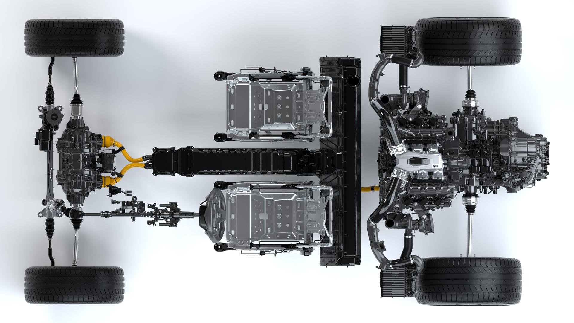 NSX - châssis + motorisation - Acura Honda