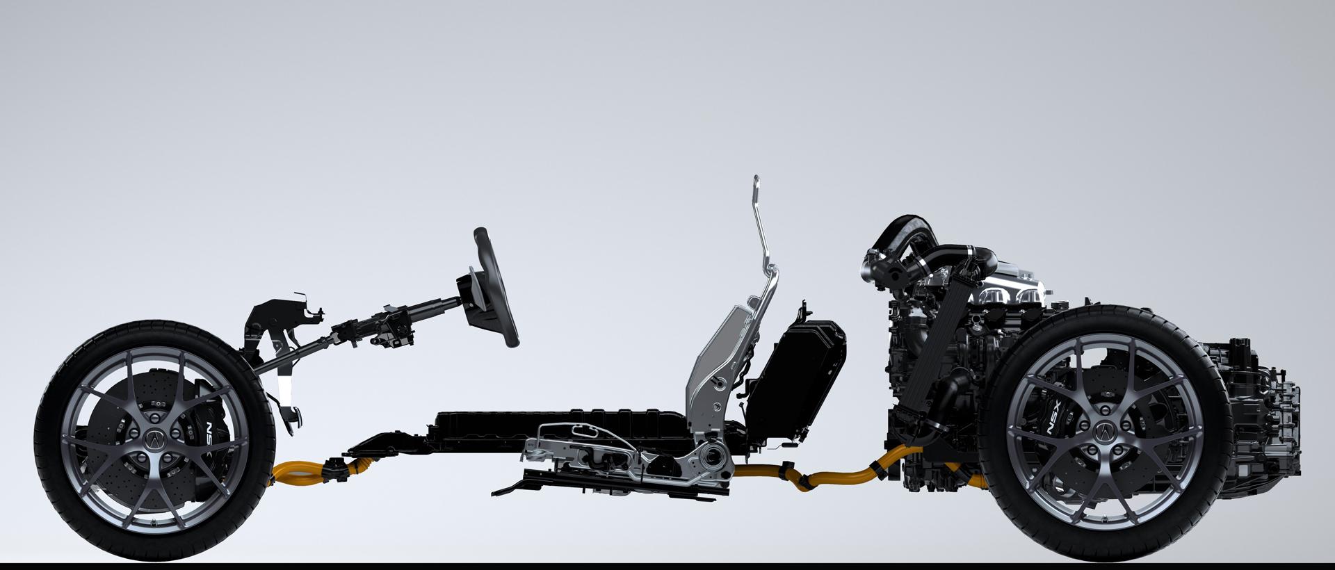 NSX - châssis + moteurs - Acura Honda