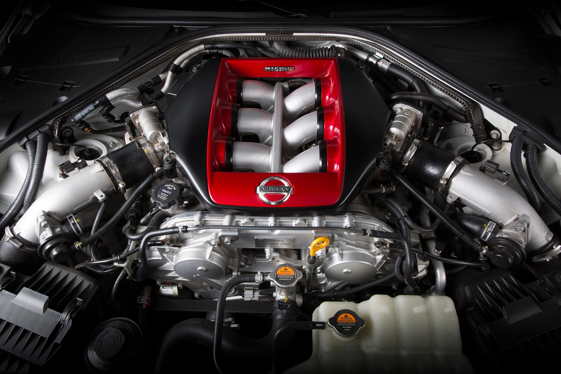 Nissan GT-R NISMO - moteur / engine
