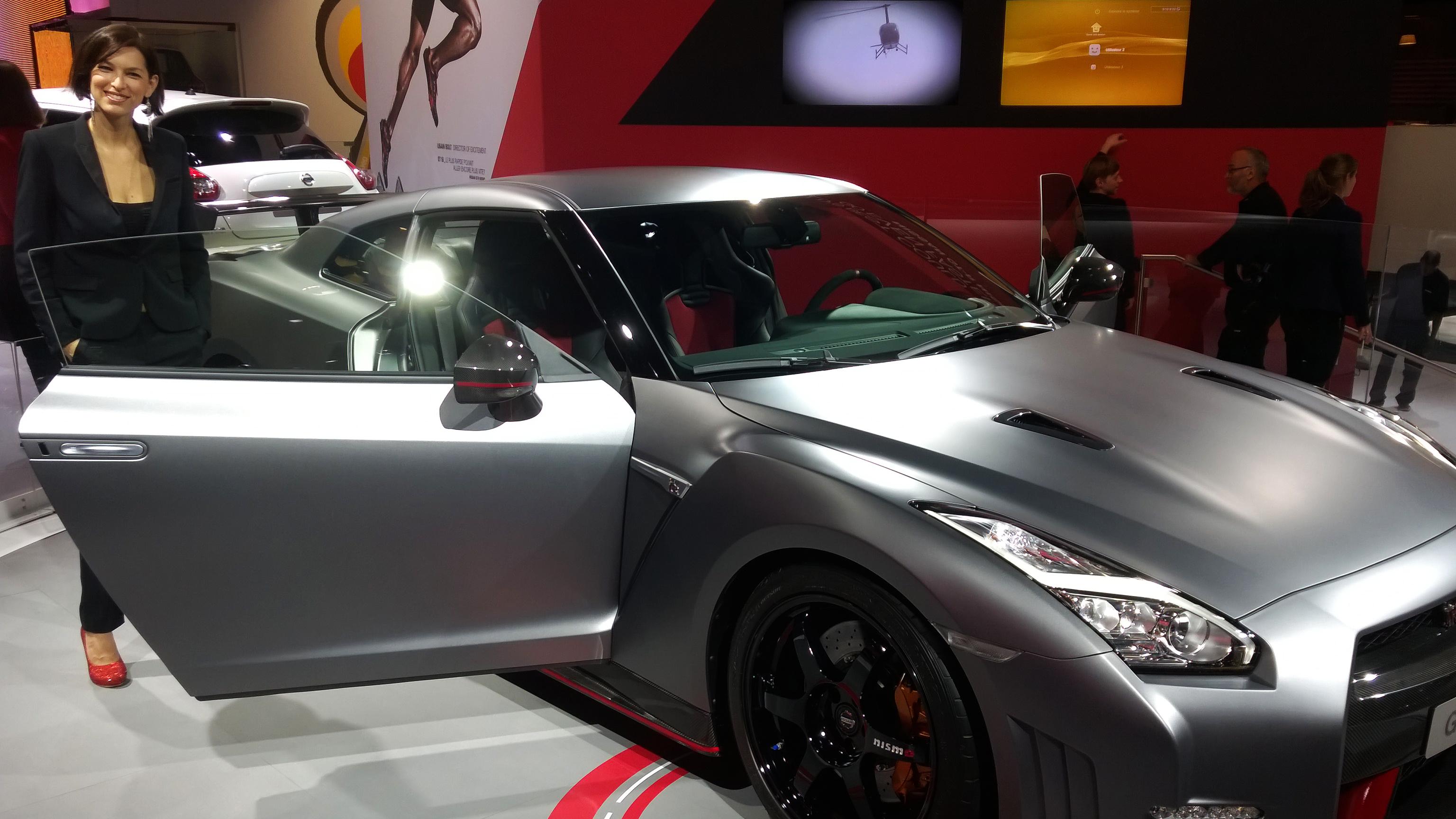 Nissan GT-R Nismo - Paris 2014 - DESIGNMOTEUR