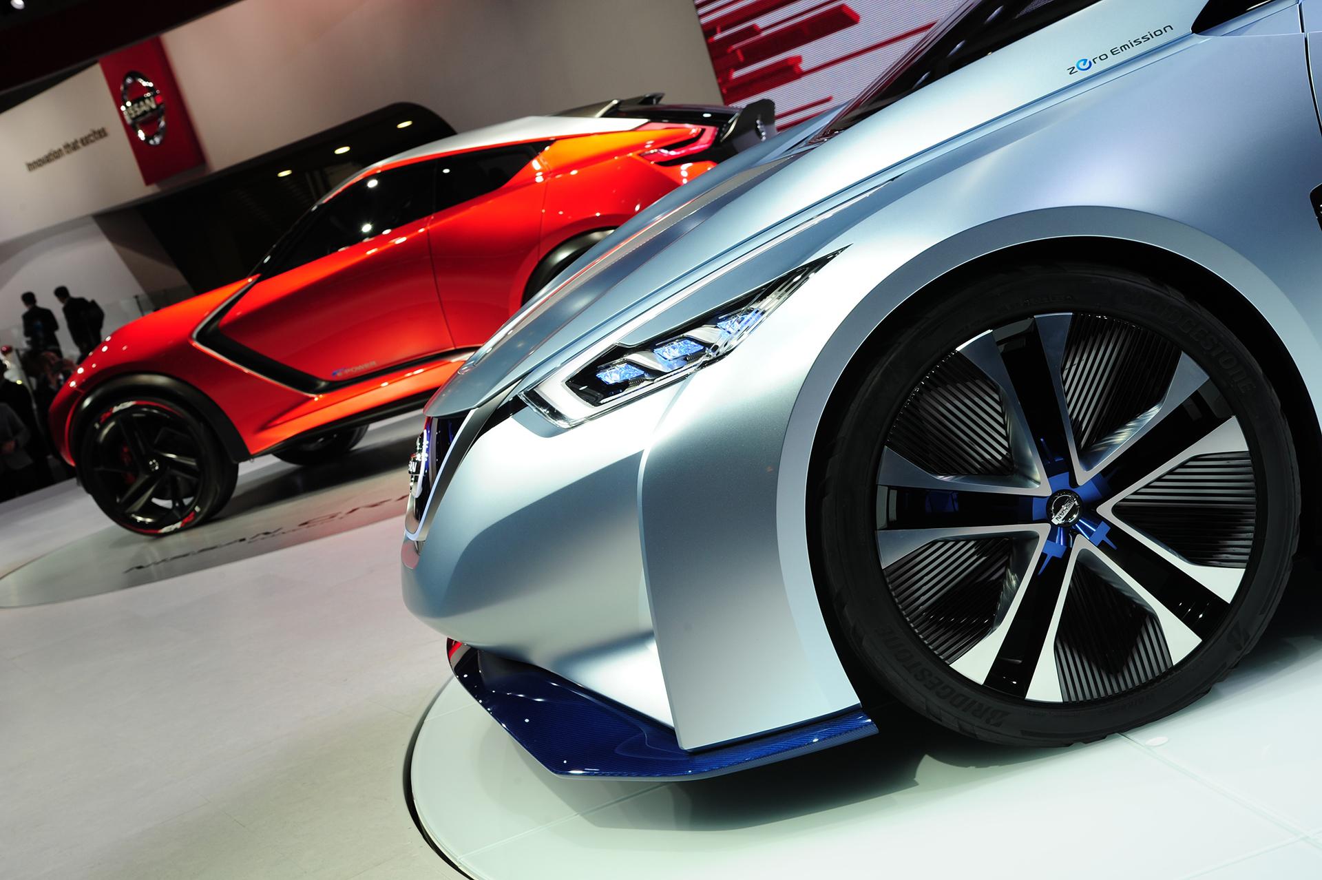 Nissan IDS Concept - Nissan GripZ - Tokyo Motor Show 2015