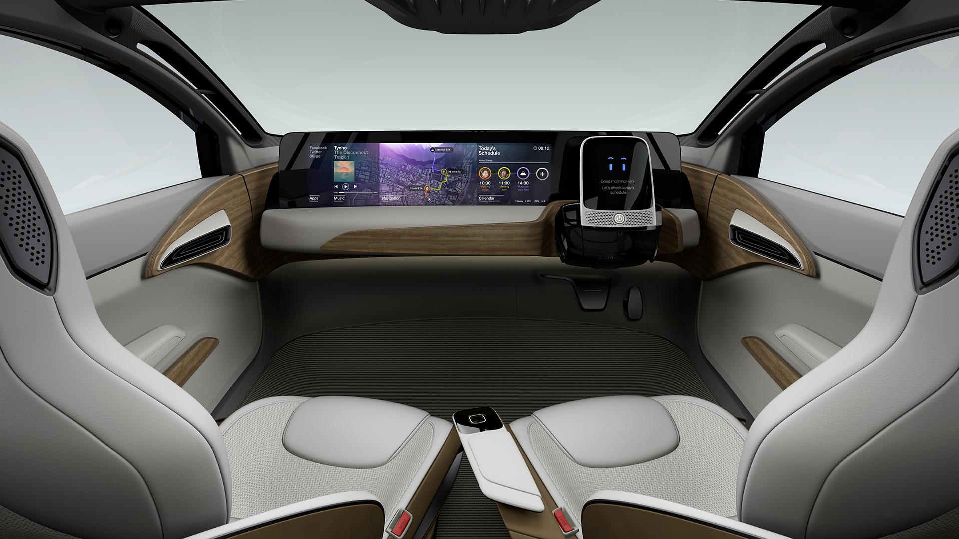 Nissan IDS Concept - intérieur / interior