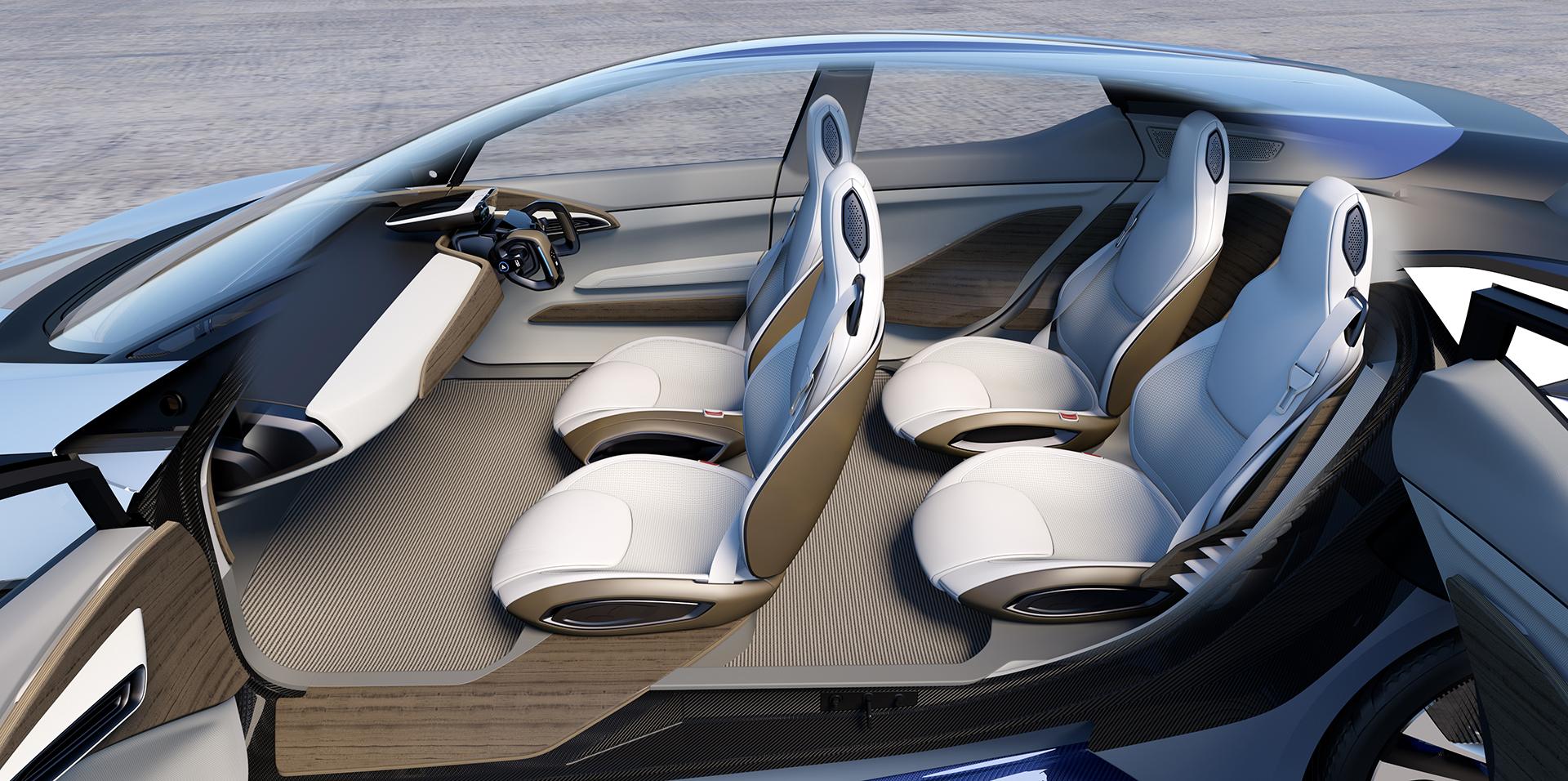 Nissan IDS Concept - sièges / seats
