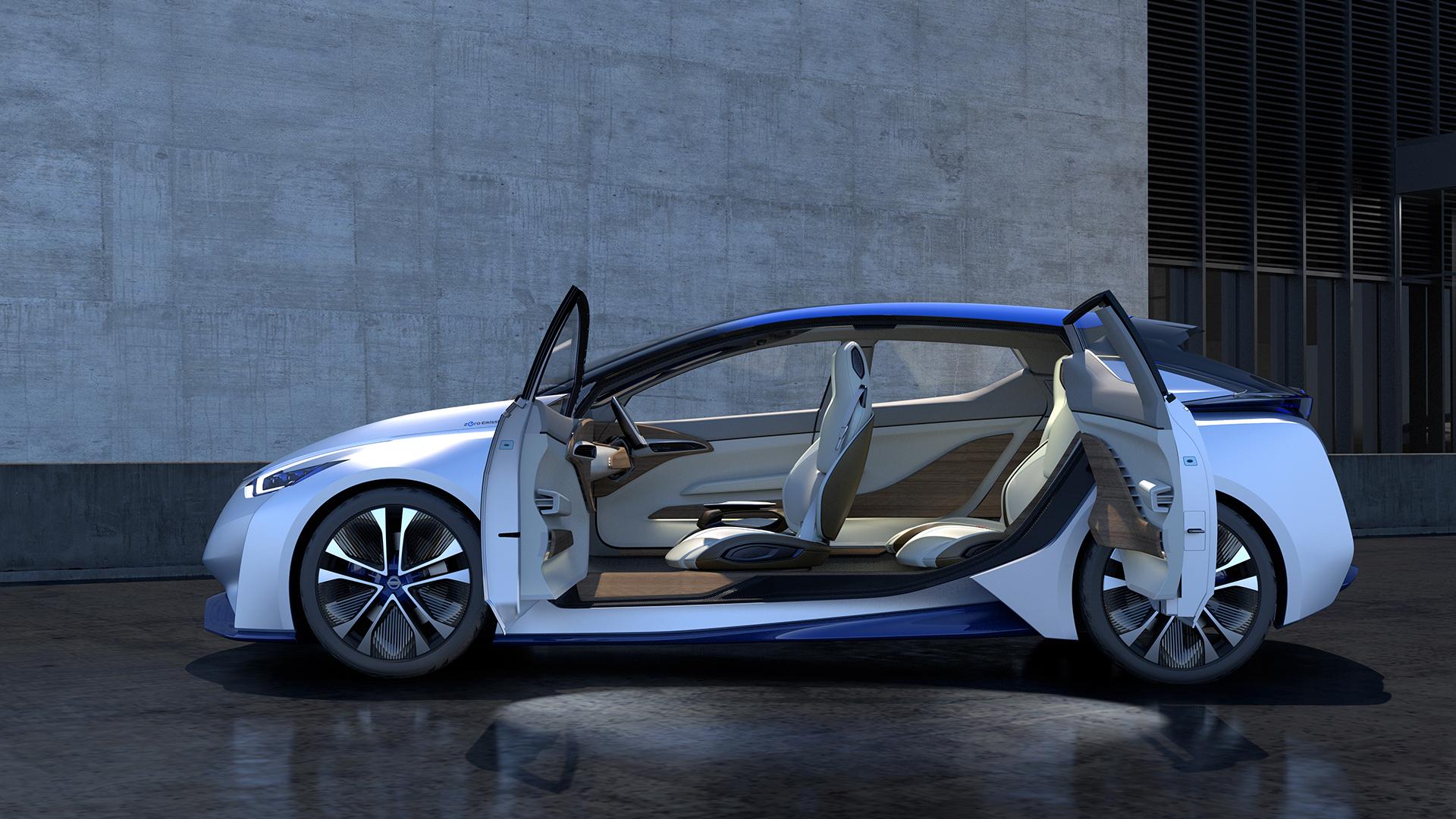 Nissan IDS Concept - portes ouvertes / open doors