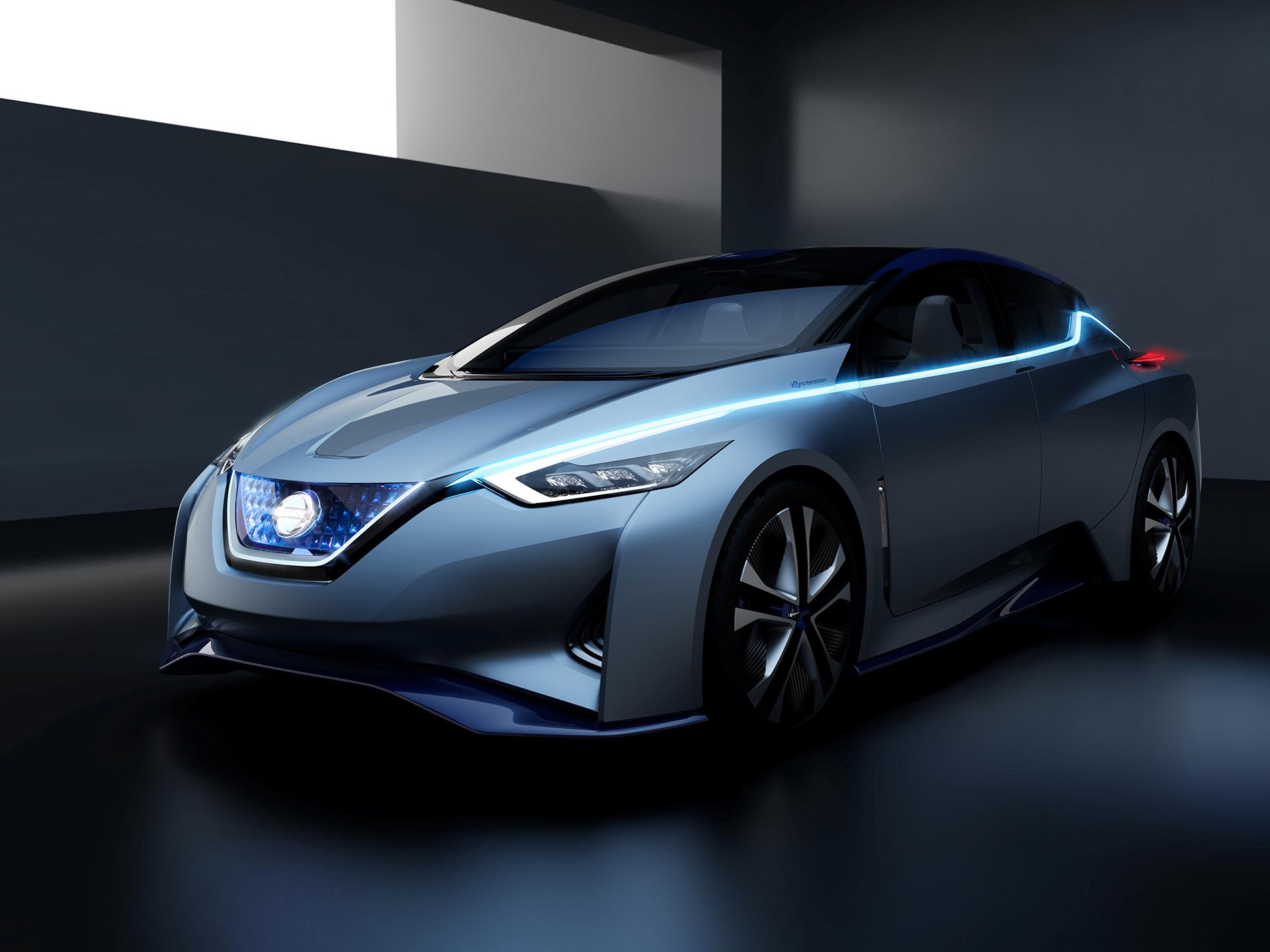 Nissan IDS Concept - profil avant / front side-face