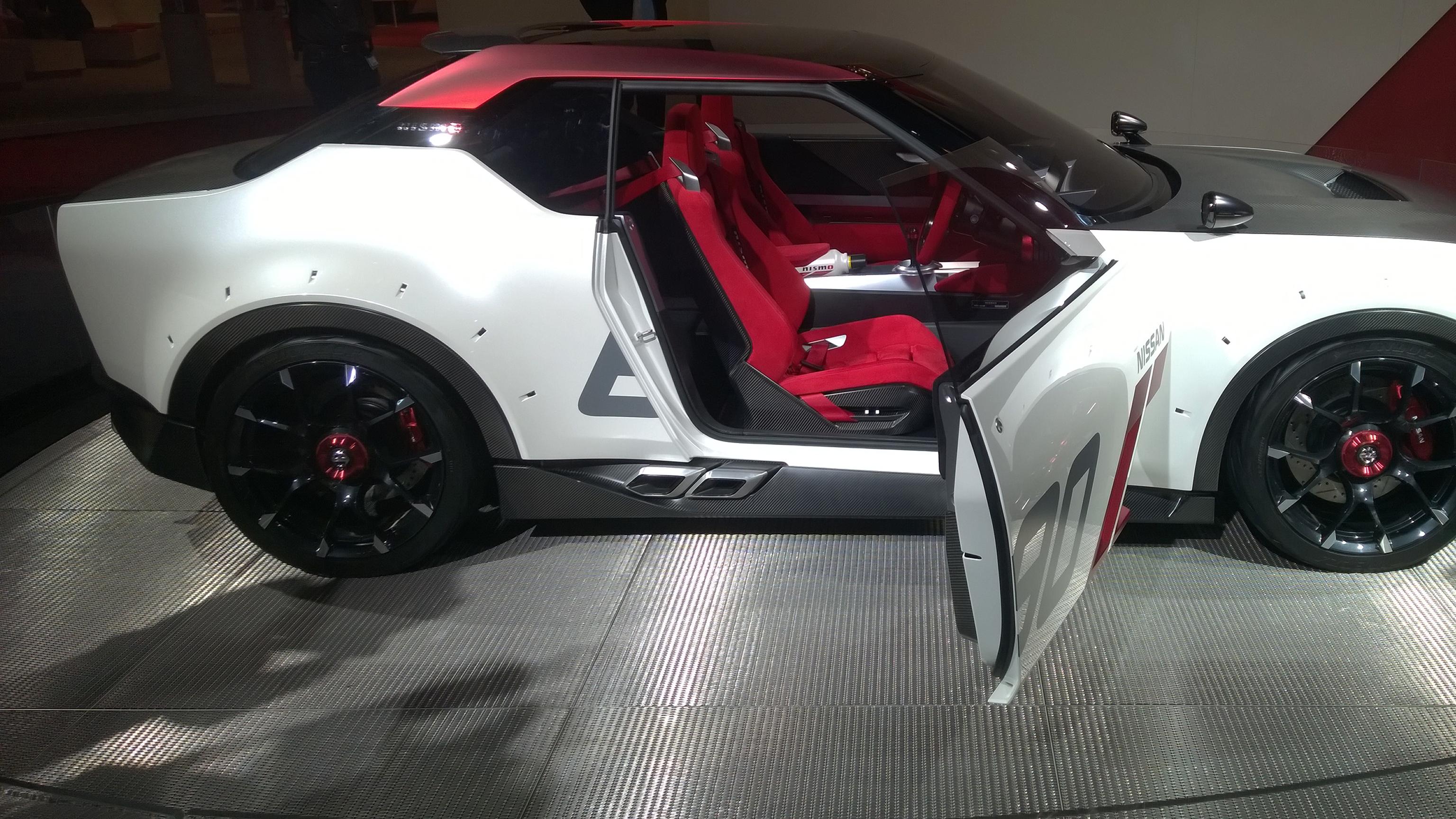 Nissan IDx Nismo - Paris 2014 - DESIGNMOTEUR
