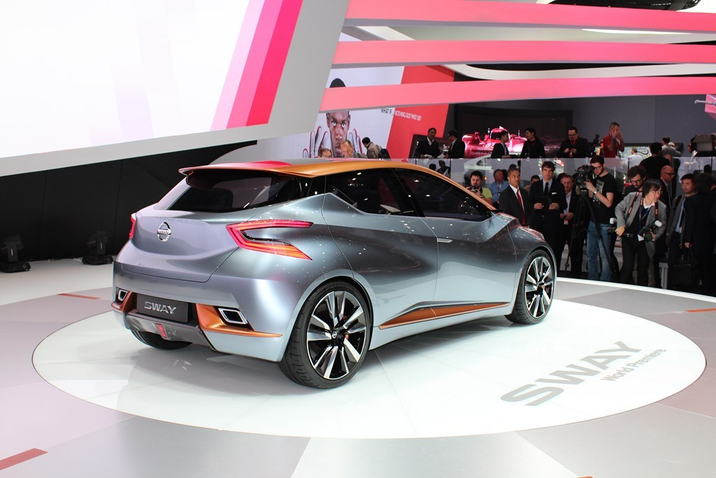 Nissan Sway concept - Geneva - 2015 - Benoit Solivellas