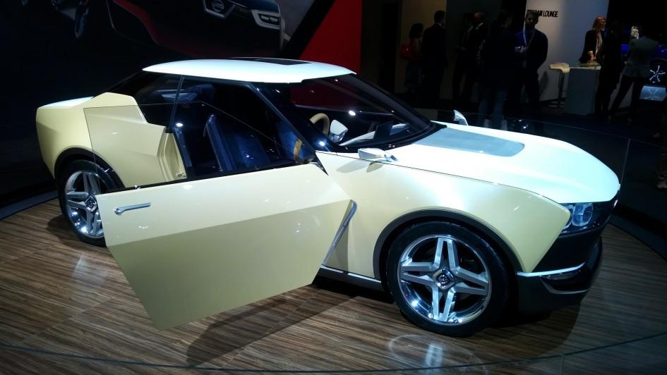 Nissan IDx - Paris 2014 - DESIGNMOTEUR