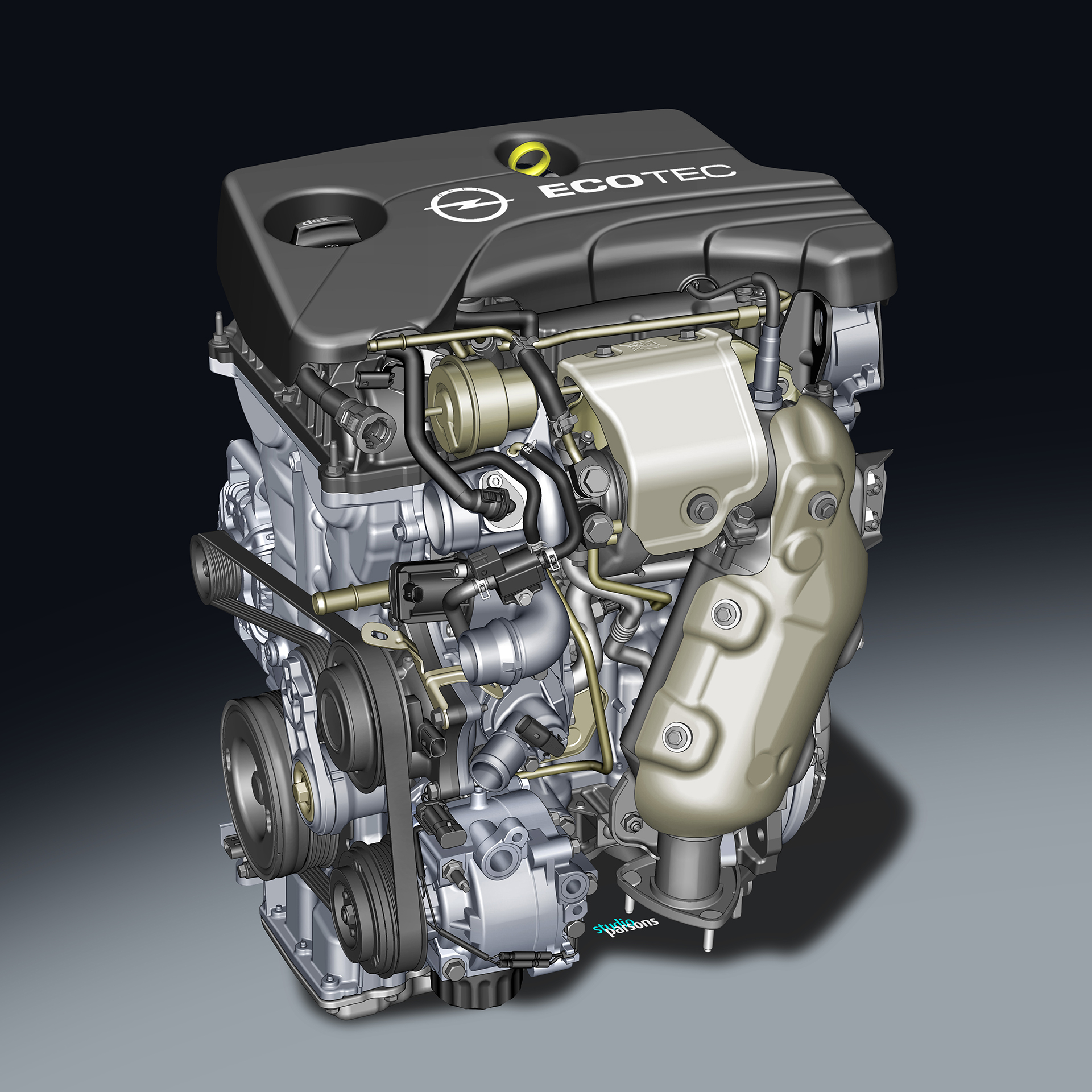 Opel - 1.0 ECOTEC Direct Injection Turbo - Image - GM Company.