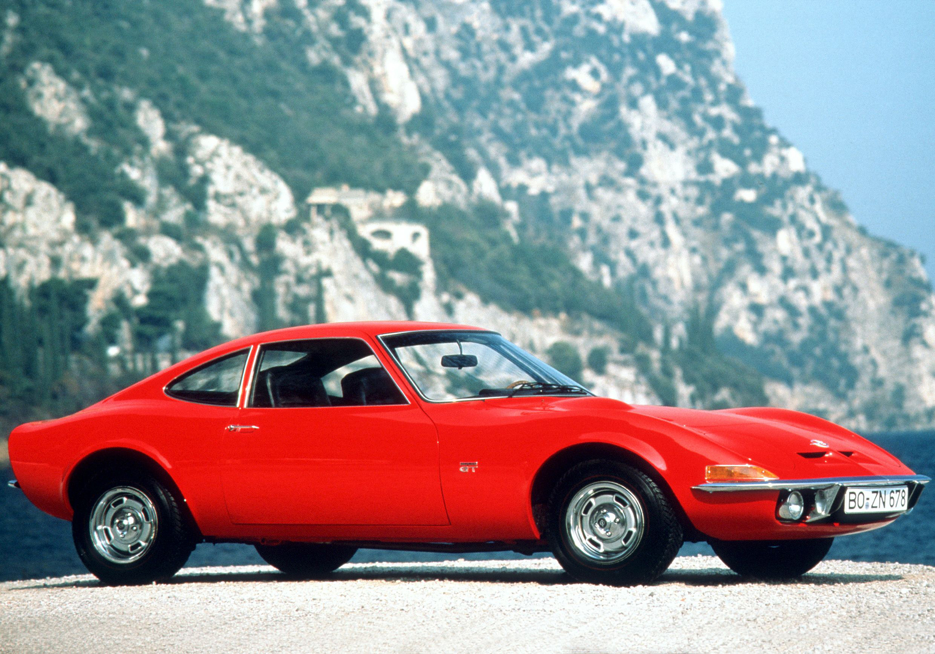 Opel GT - 1968 - avant / front - Image - GM Company.