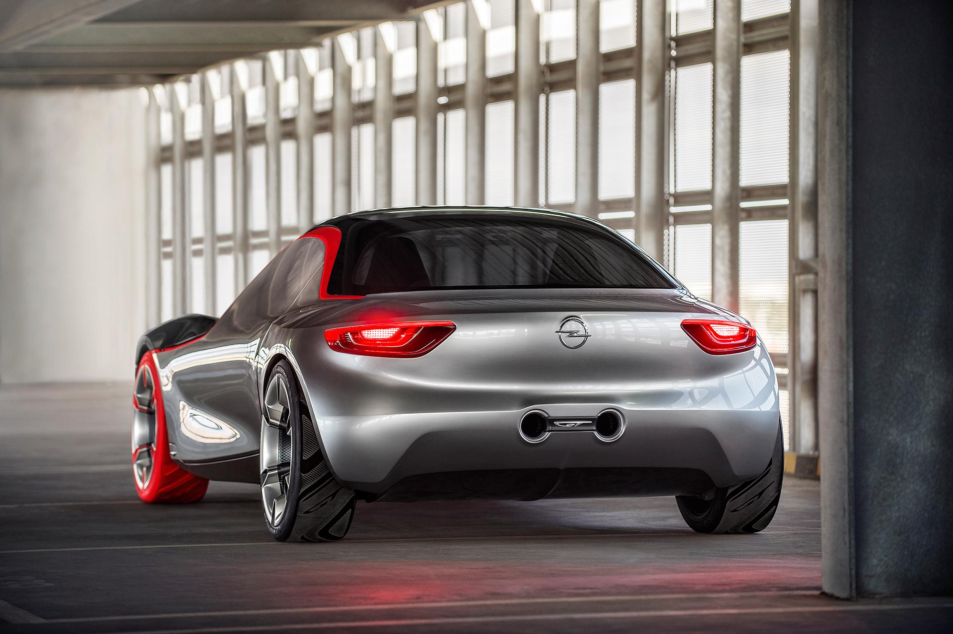 Opel GT Concept 2016 arrière / rear - Image - GM Company.