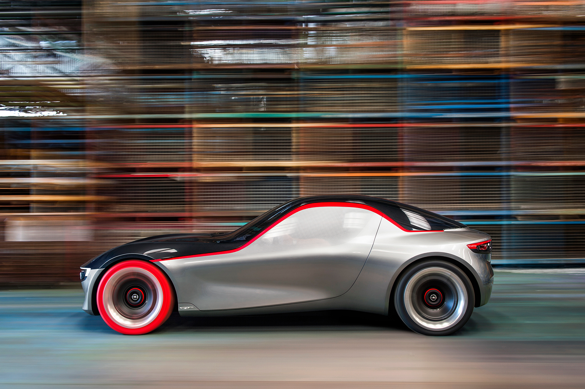 Opel GT Concept 2016 profil avant / side-face - Image - GM Company.