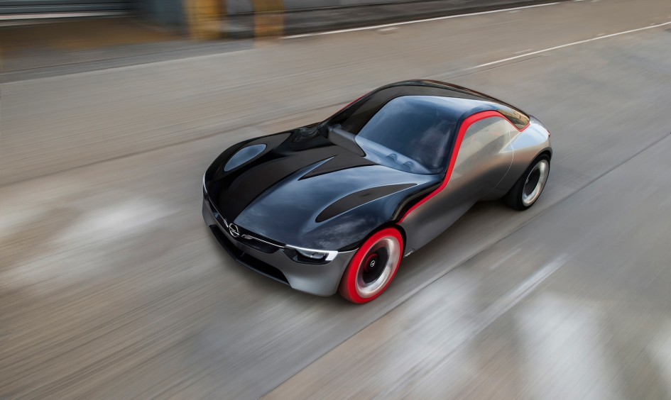 Opel GT Concept 2016 toit avant / front top - Image - GM Company.
