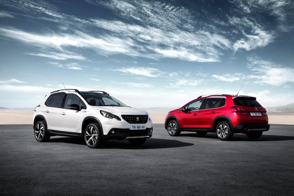Peugeot 2008 - 2016 - avant / front - arrière / rear