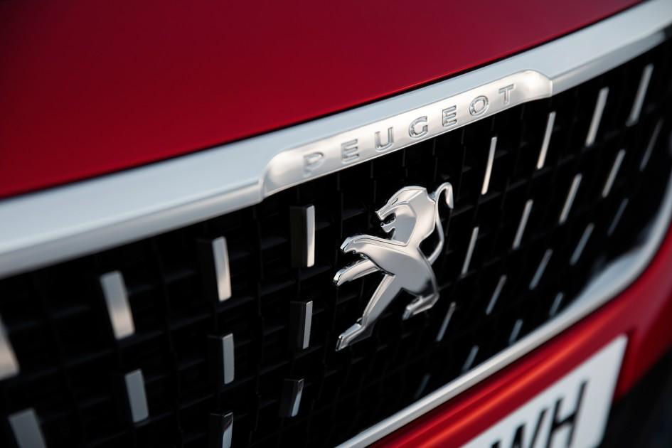Peugeot 2008 - 2016 - emblème / emblem