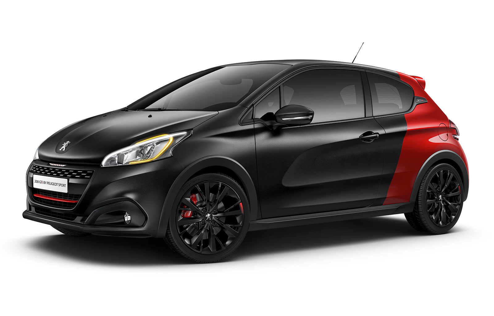 peugeot sport 208 gti rugissage 208 ch pelage noir. Black Bedroom Furniture Sets. Home Design Ideas